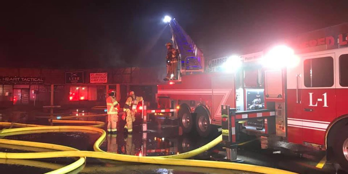 AFD: Investigators working to determine cause of strip mall fire on Georgia Street