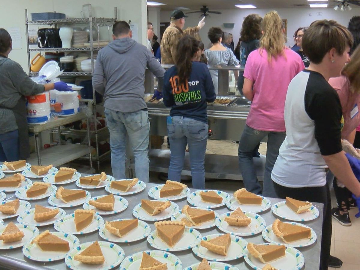 Faith City Mission provides Thanksgiving experience to 400 homeless