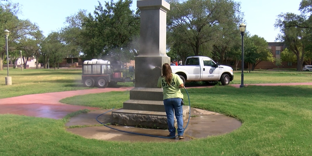 City leaders discuss moving Amarillo monuments after multiple graffiti incidents