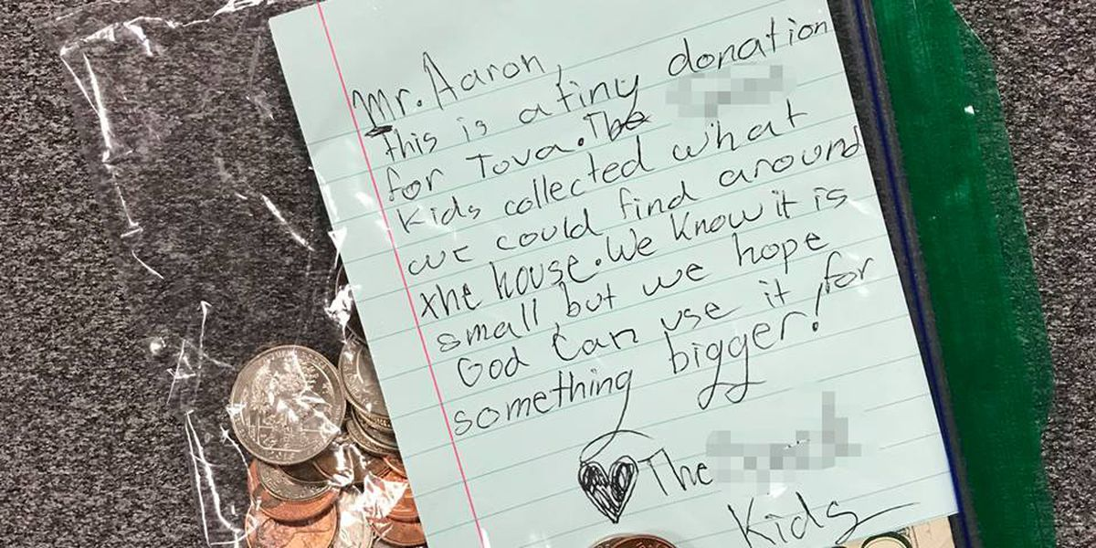 Kids donate their dollars to non-profit coffee shop that was burglarized