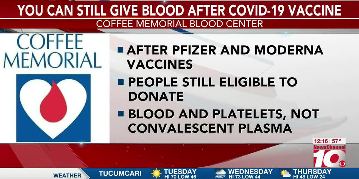 VIDEO: You can still give blood after receiving COVID-19 vaccine, experts say