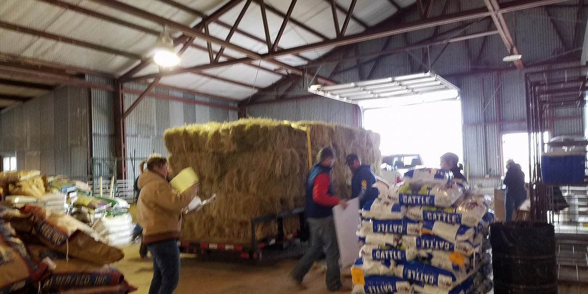 Pampa community collects donations for those affected by the wildfires