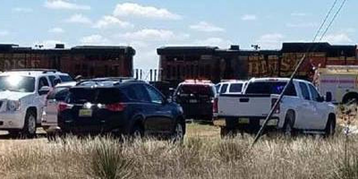 Train, truck collide in eastern New Mexico