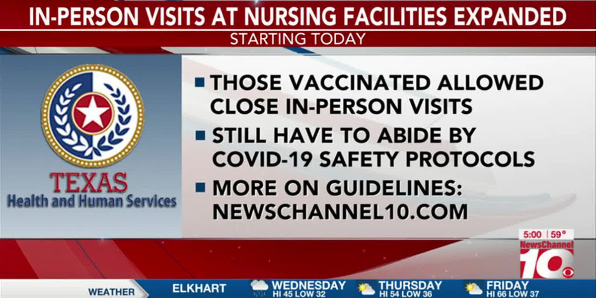 VIDEO: Texas HHSC expands in-person visits at nursing facilities