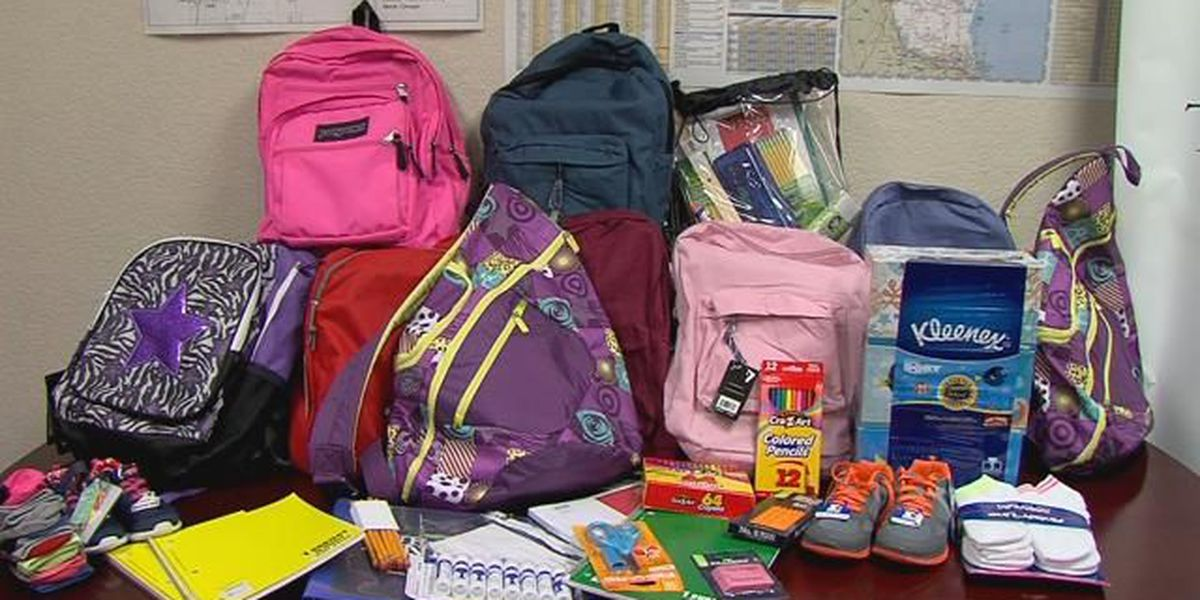Salvation Army begins sign-ups for school supply distribution