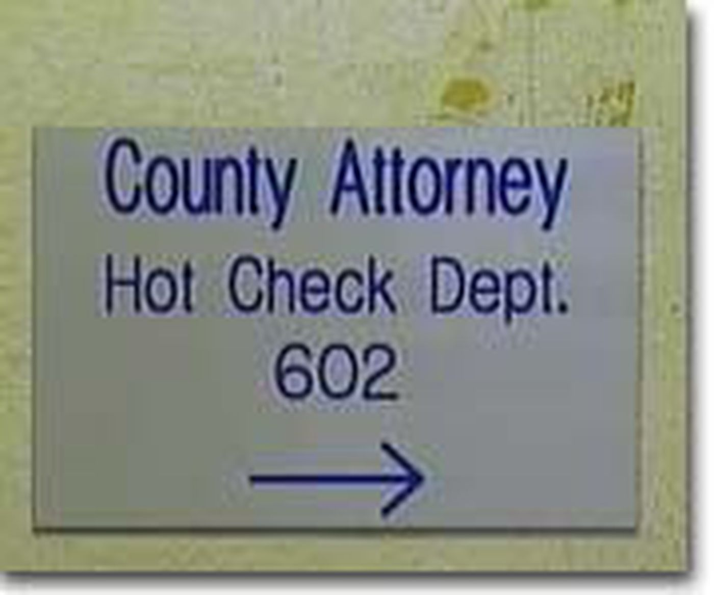 Potter County Cracking-Down On Hot Checks