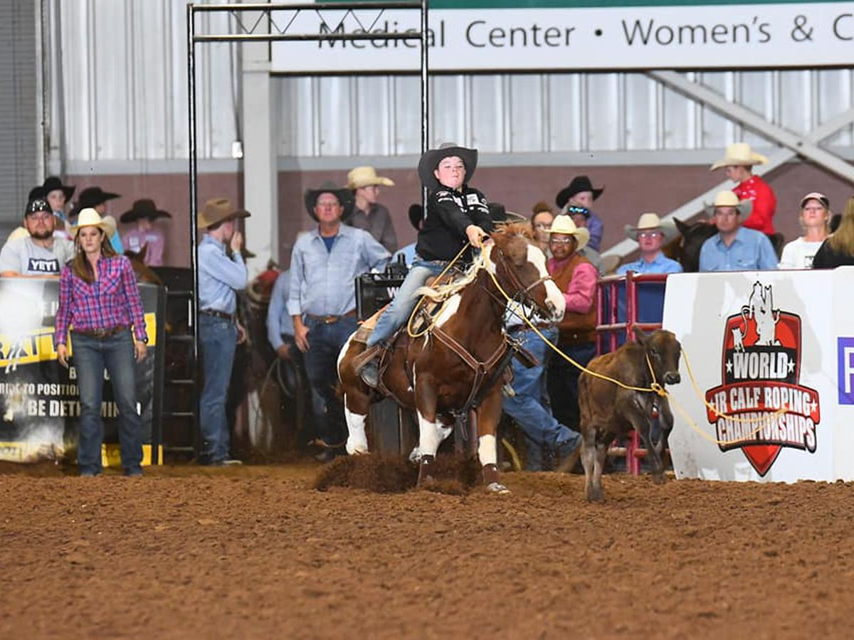 Amarillo junior roper headed to Vegas qualifier for third year in a row
