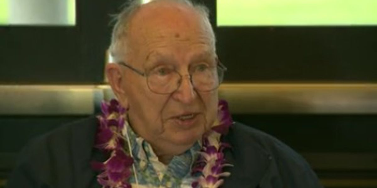 USS Arizona survivor who was second to last to leave the sinking battleship dies at 98