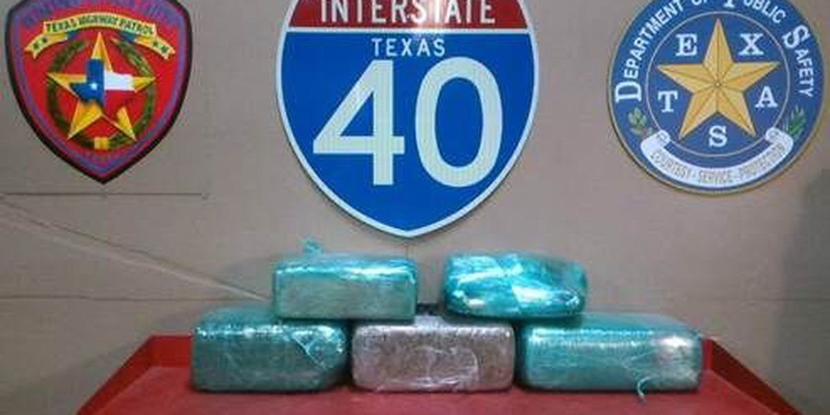 Traffic stop leads to seizure of 104 pounds of marijuana