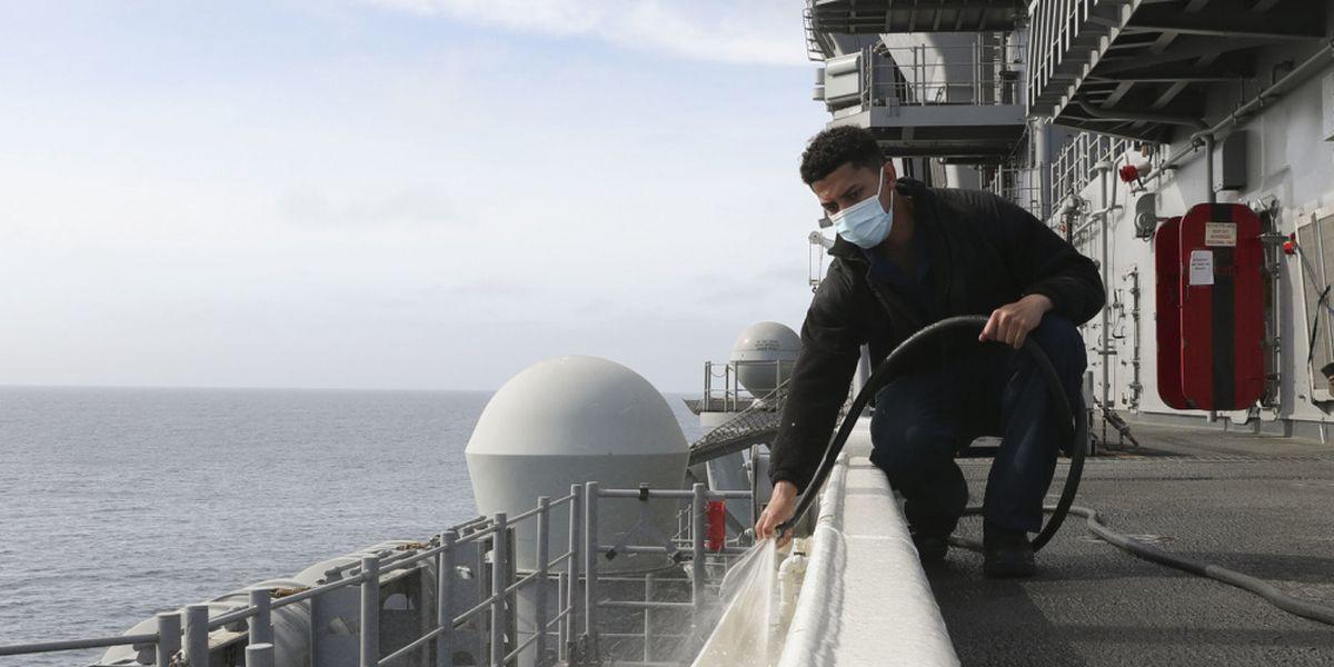 Borger native working on USS Tripoli
