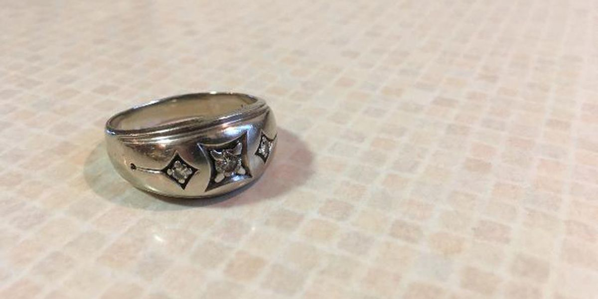 Wedding ring lost for 40 years found in the motor of an old car