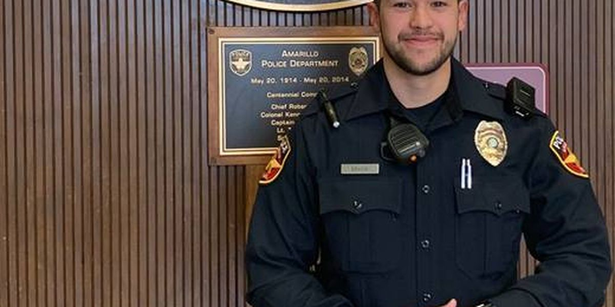 Amarillo police officer arrests high risk domestic violence offender
