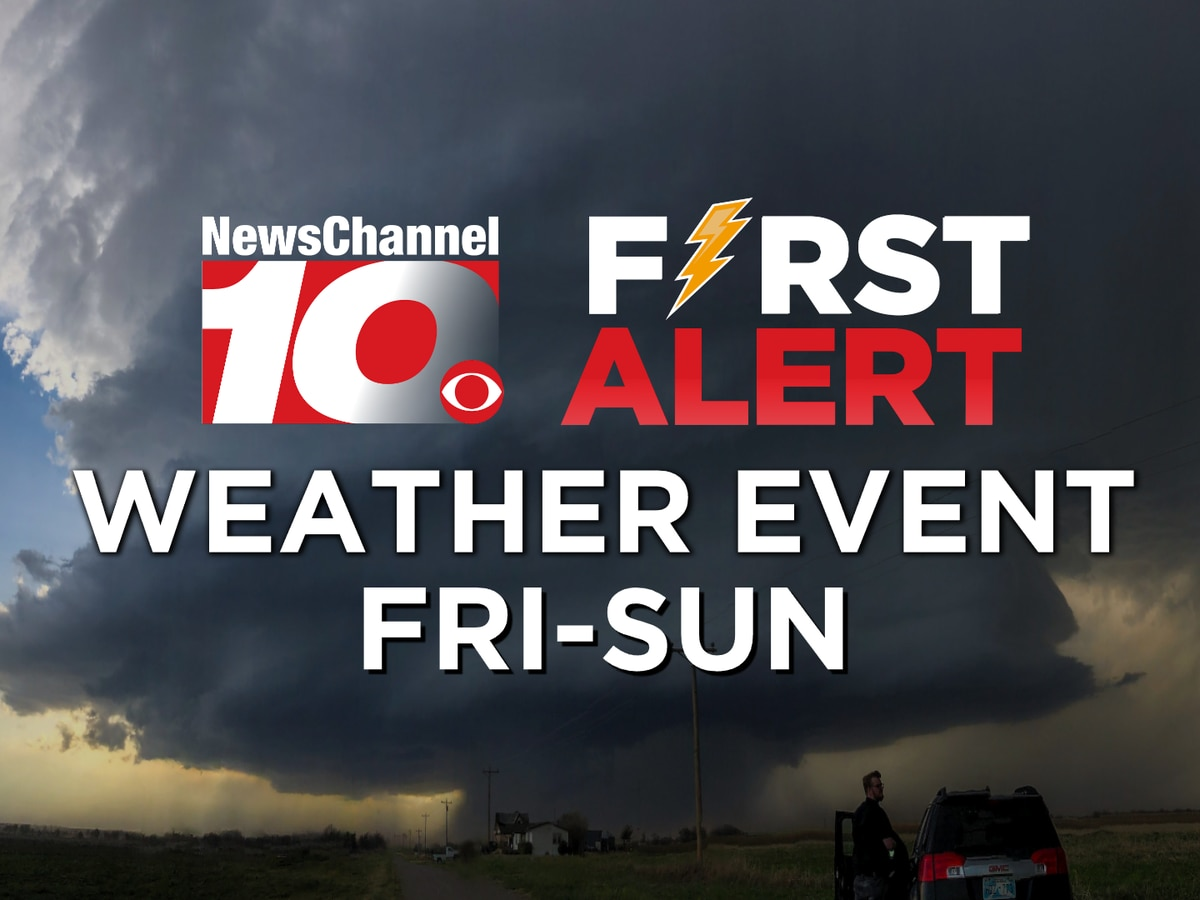 FIRST ALERT: Severe storm chances continue this weekend