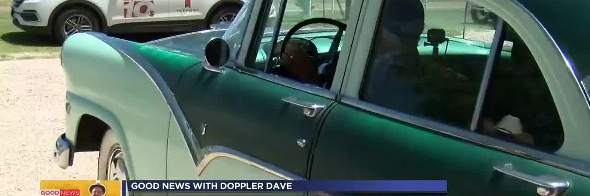 Good News with Doppler Dave: WWII vet's 1955 Ford restored for his 99th birthday