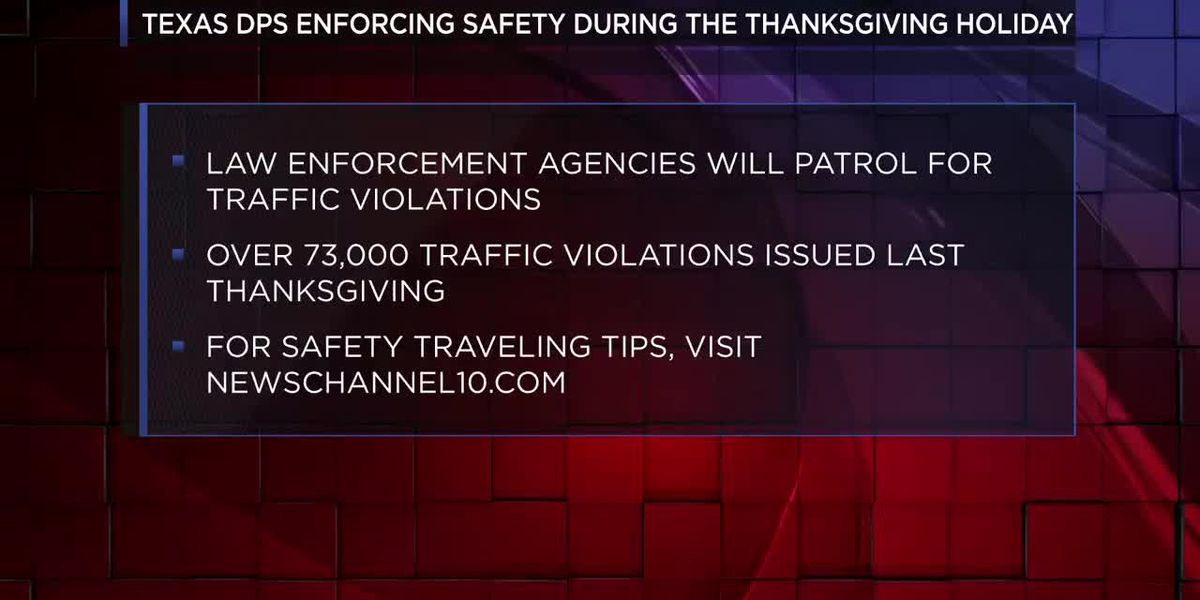 Texas DPS, other agencies increasing enforcement during holiday