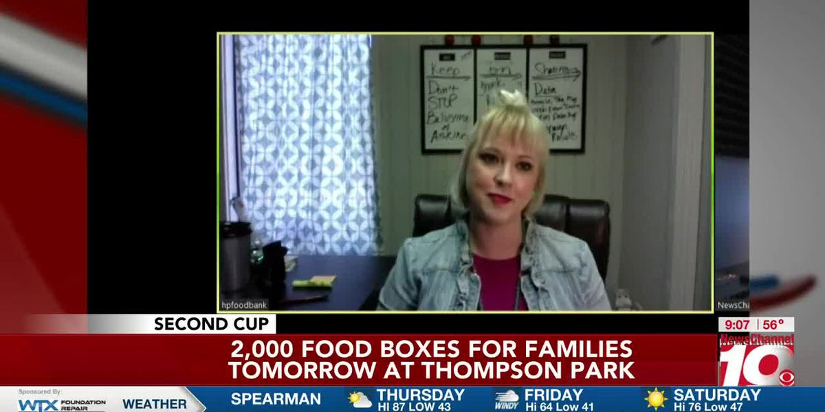 INTERVIEW: Tina with High Plains Food Bank is preparing to hand out 2,000 food boxes on Friday