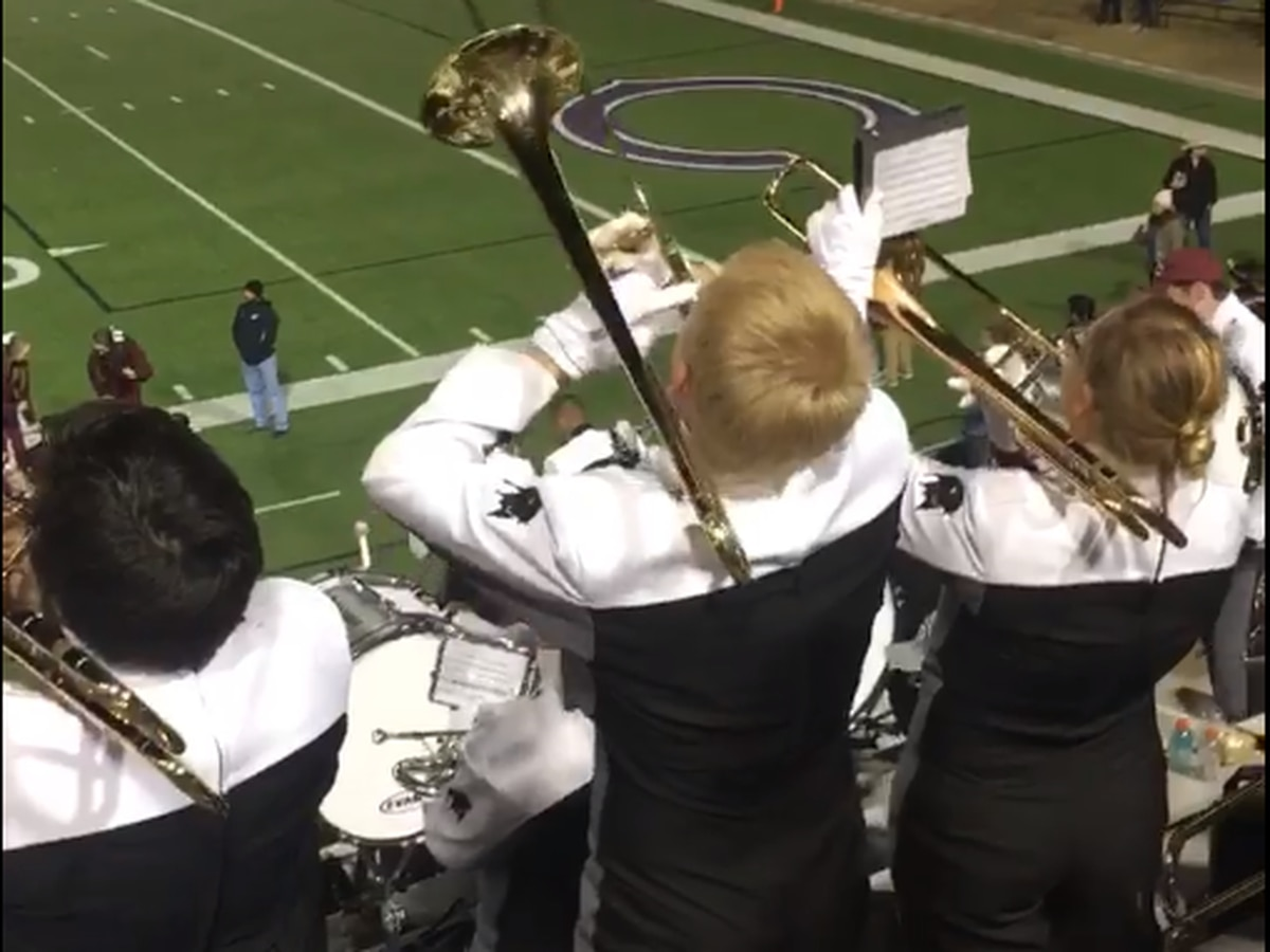 Dancing West Texas A&M band member goes viral on Facebook