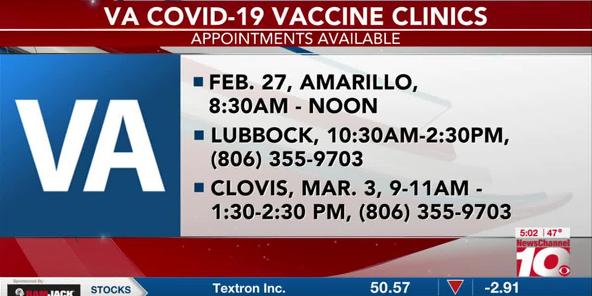 VIDEO: Amarillo and Lubbock VA Health clinic has COVID-19 vaccines available for veterans