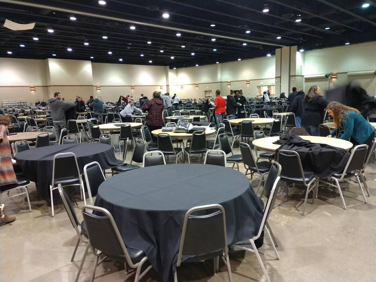Faith City Mission holding Thanksgiving dinner for guests, families