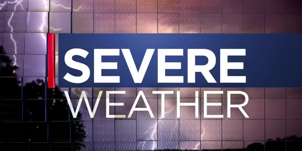 FIRST ALERT: Conditions favorable for more severe weather on Sunday