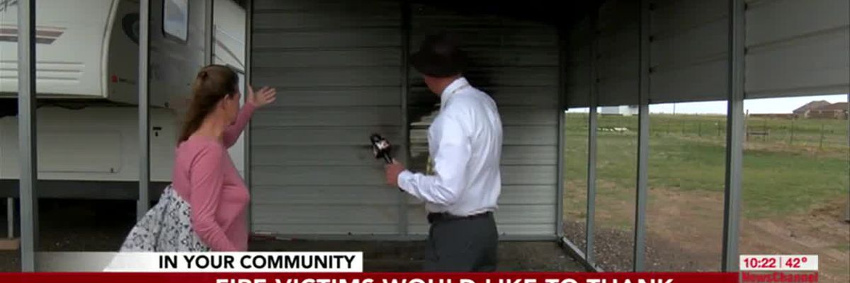 VIDEO: GOOD NEWS: Doppler Dave shares story of family impacted by a recent fire