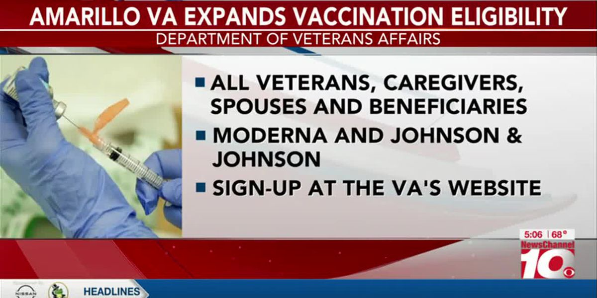 VIDEO: Amarillo VA expands vaccinations for all veterans, caregivers and spouses starting Monday