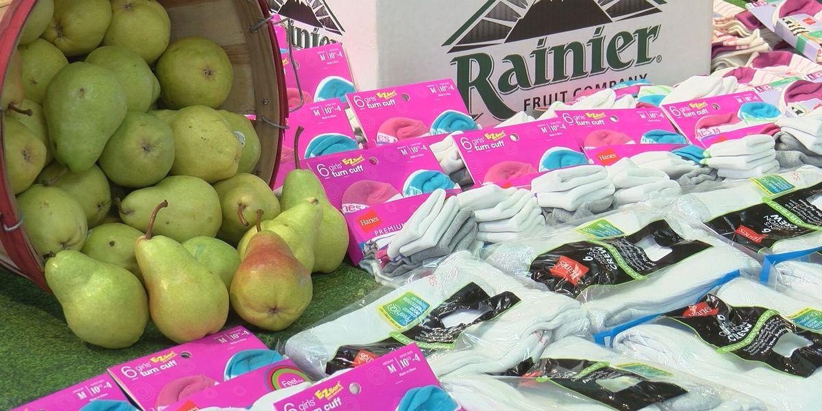 United Supermarkets donates 1,000 socks to Amarillo Salvation Army
