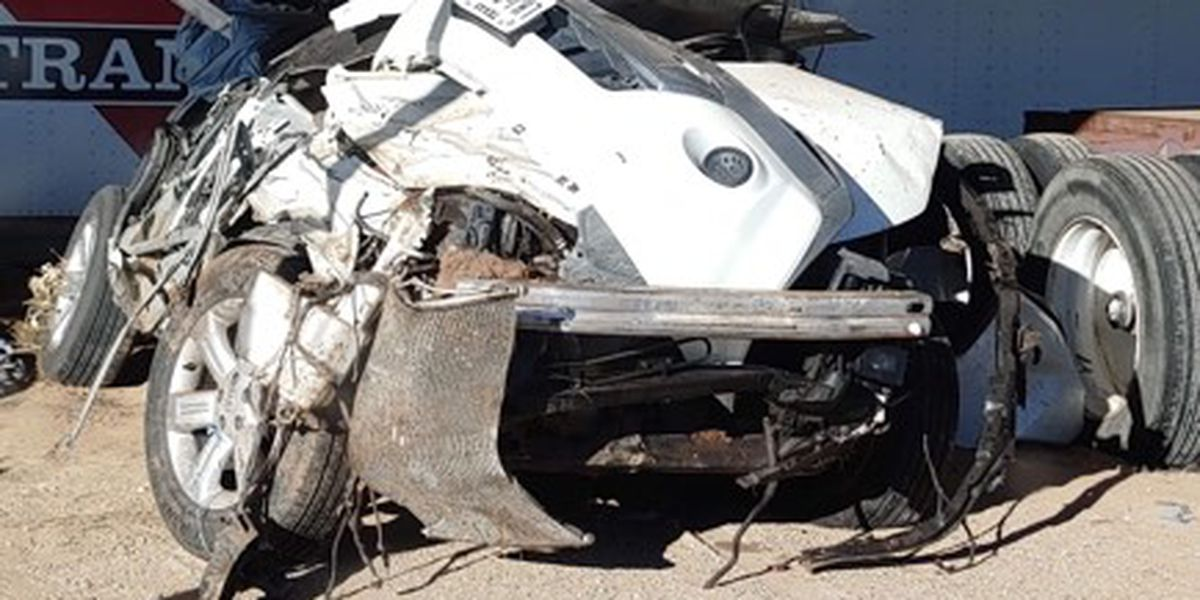 Woman survives life-threatening crash, not found until 8 hours later
