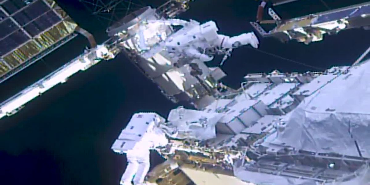 Astronauts complete 2 spacewalks in week at ISS
