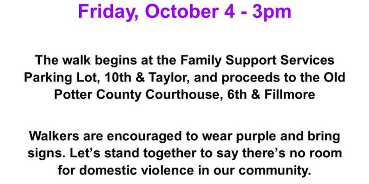 Take a stand against domestic violence with FSS today