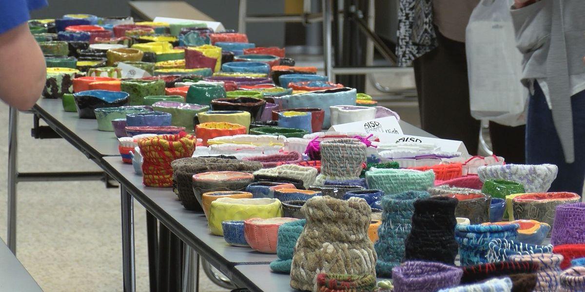 AISD hosts 'Empty Bowls' fundraiser for Kids Cafe