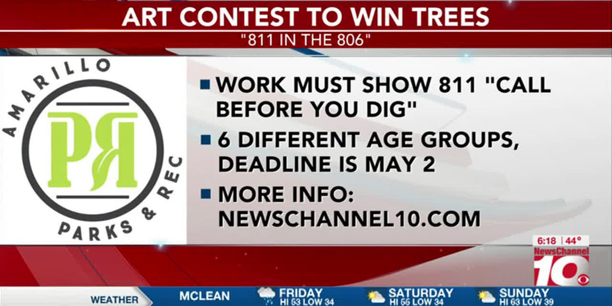 VIDEO: COA Park and Recreation and Atmos Energy hosting '811 in the 806′ Art Contest and win a tree
