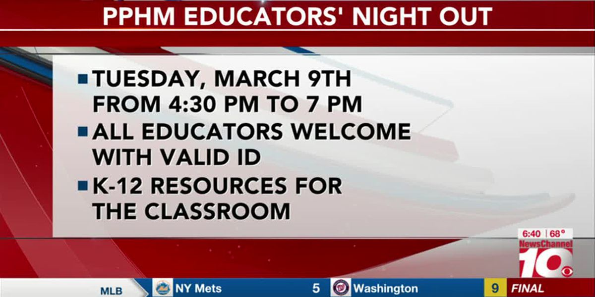 VIDEO: PPHM to host free night for educators
