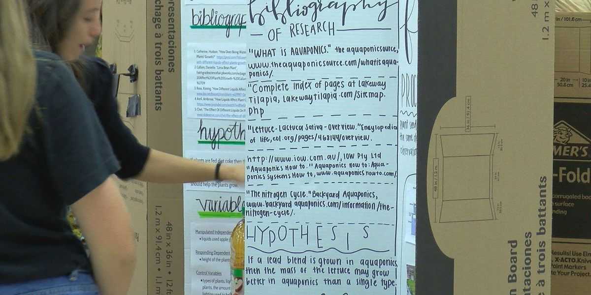 Canyon ISD students present science projects to the community