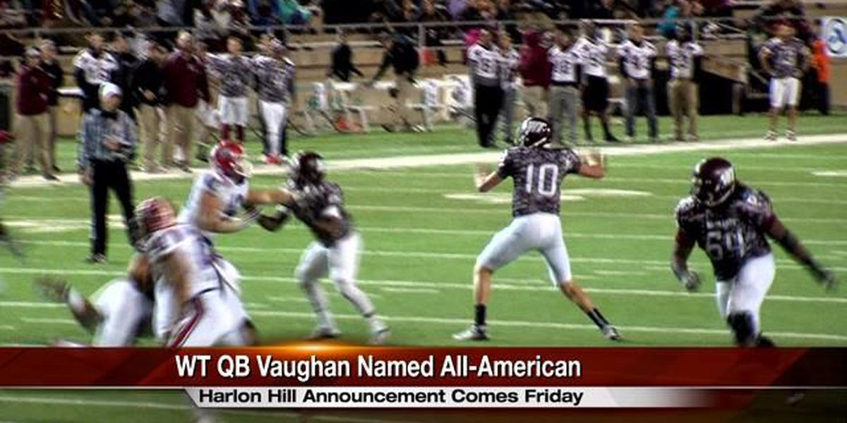 Buffs QB Dustin Vaughan announced as All-American for the second straight year