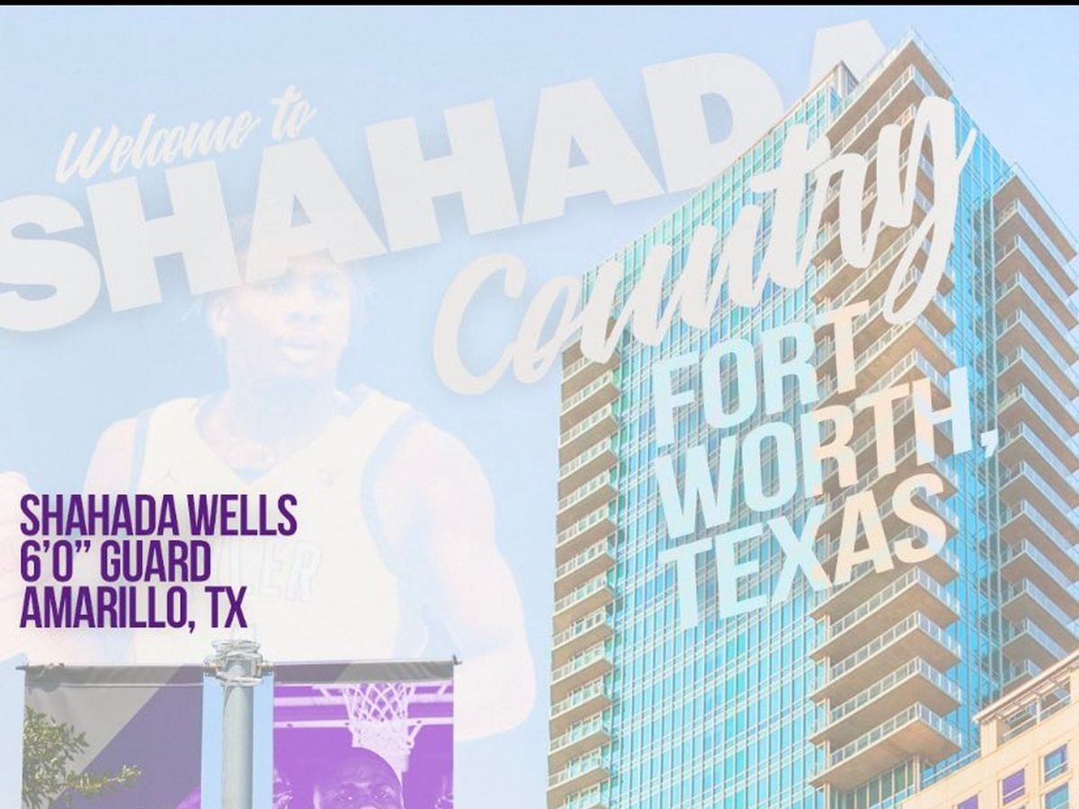 Tascosa alum Shahada Wells lands dream spot in Big 12 basketball, signs with TCU