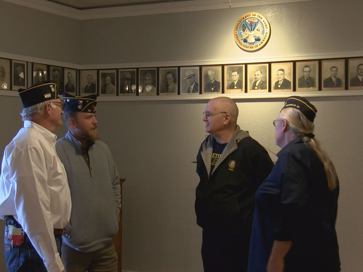 Amarillo's American Legion veterans raising funds to repair building