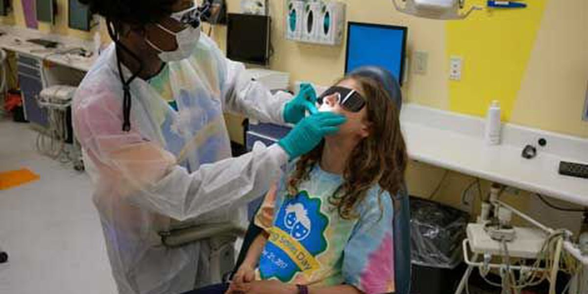 Local dentist offices providing free dental care for veterans and children