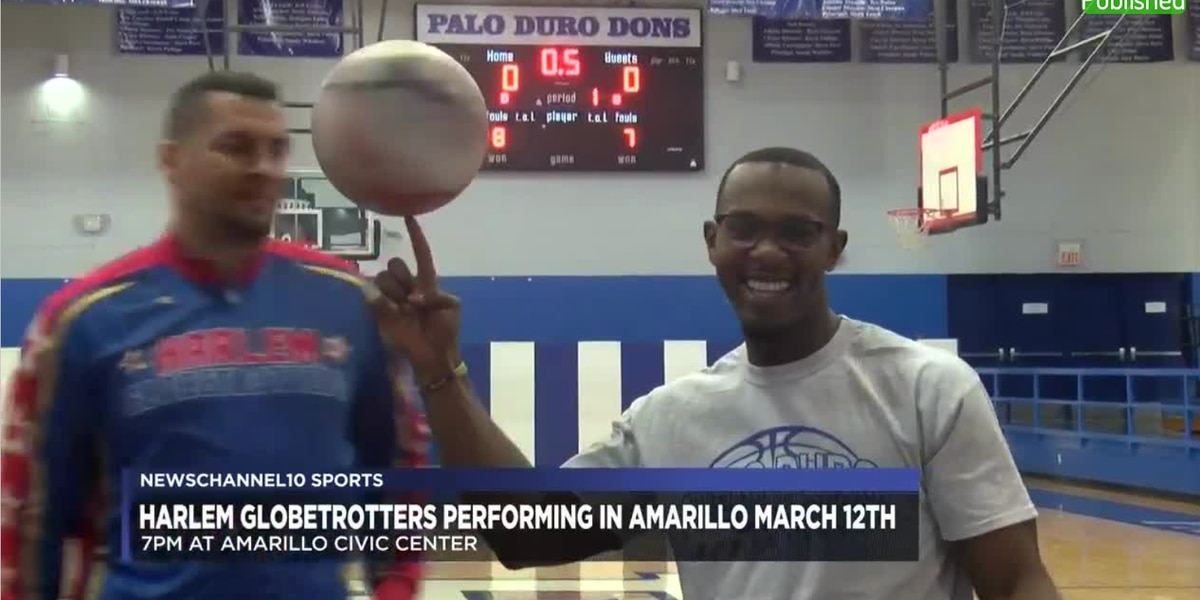 "The Harlem Globetrotters ""Fan Powered World Tour"" headed to Amarillo"