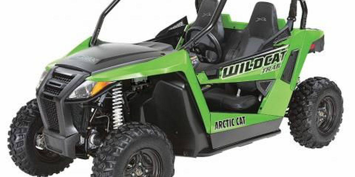 RECALL ALERT: Arctic Cat Recreational Off-Highway Vehicles recalled due to fire hazard