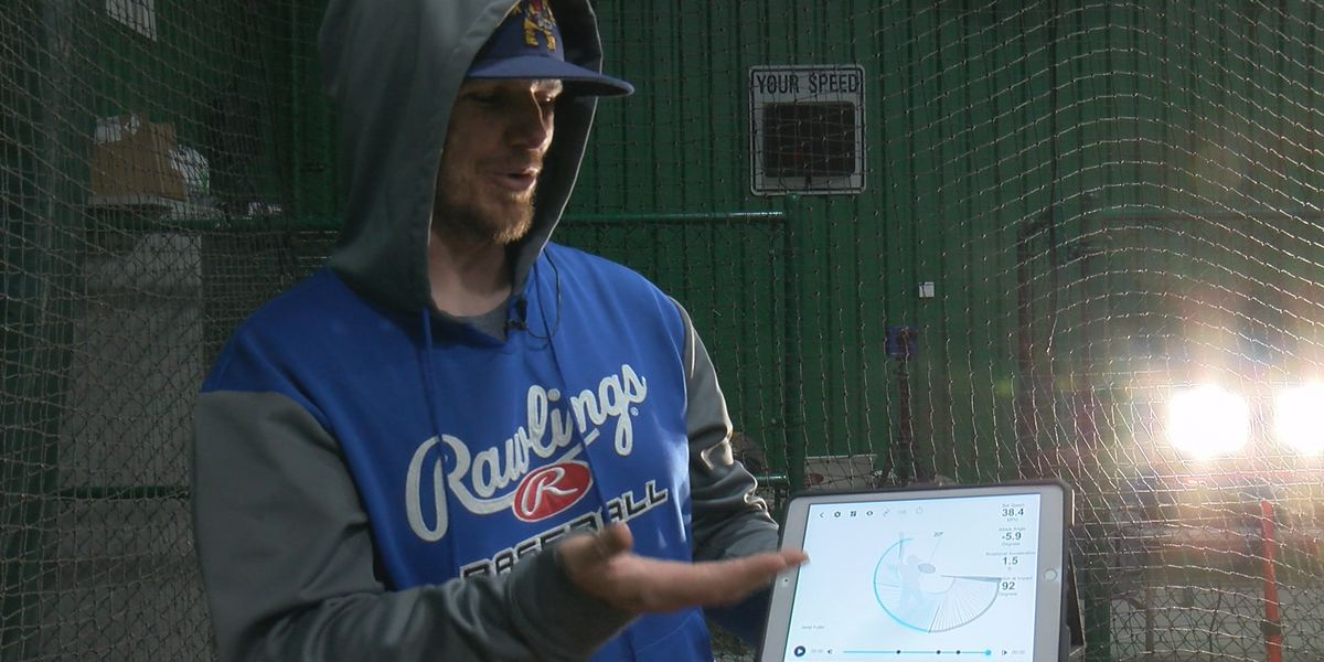 Robert Riggins found his calling, coaching athletes through physics at Heavy Mettle Baseball