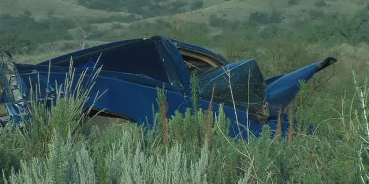 Vehicle rollover on Highway 287, driver left the scene