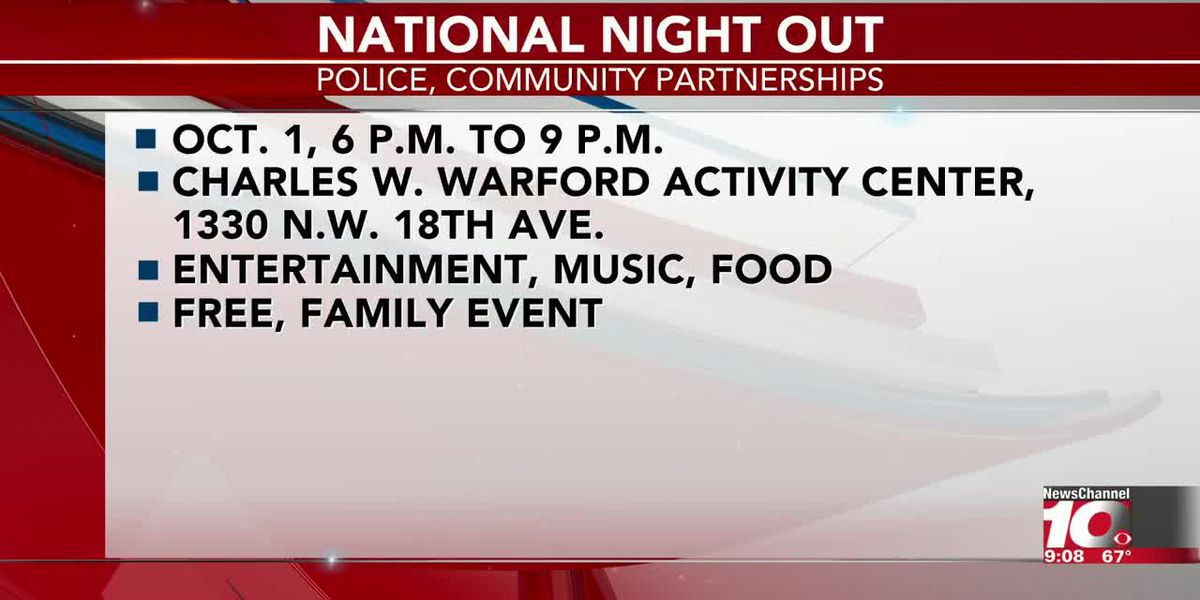 INTERVIEW: National Night Out is set for this weekend