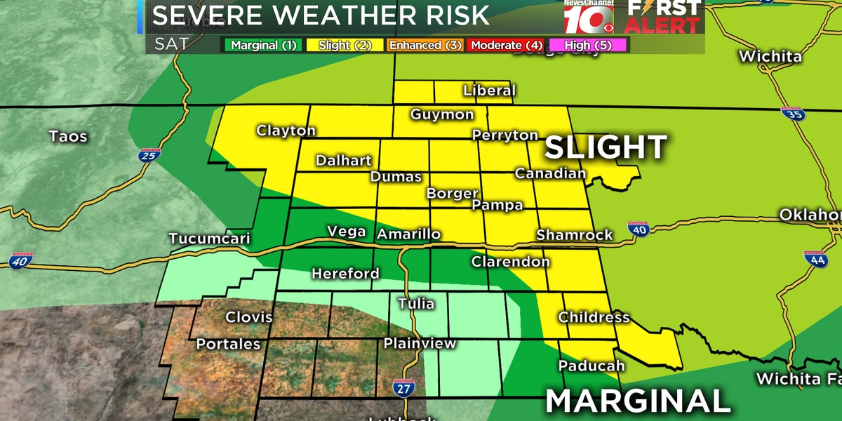 Severe weather possible for much of Oklahoma Saturday into Sunday
