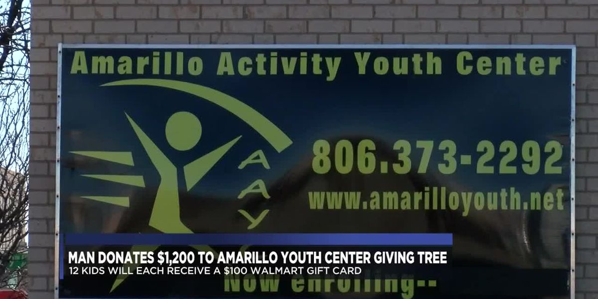 Secret Santa donates $1,200 for 12 Amarillo Youth Center children