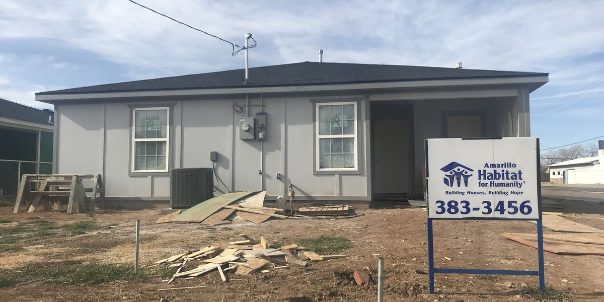 Amarillo's Habitat for Humanity will soon finish 25th and last home at Glenwood Park neighborhood