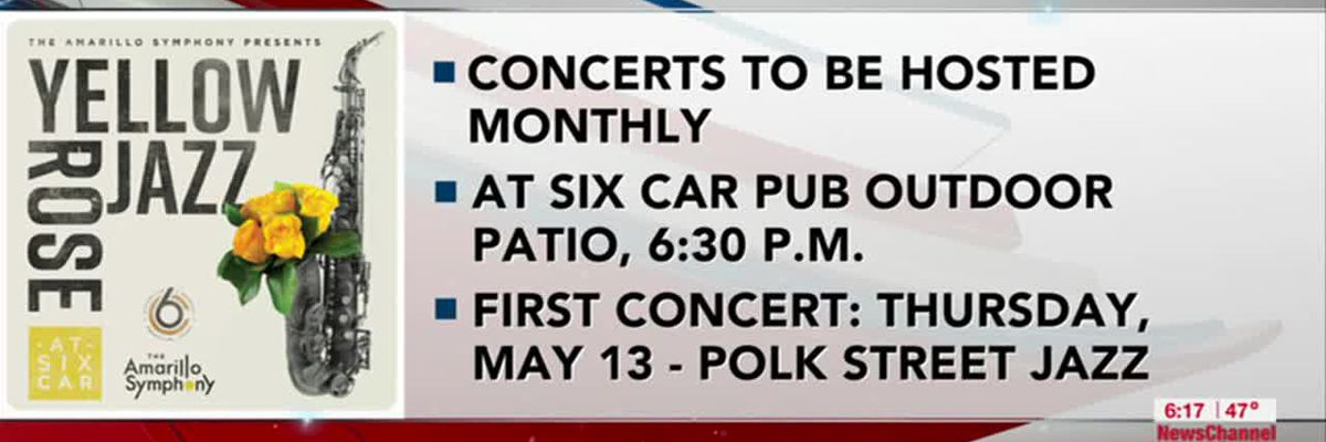 VIDEO: Amarillo Symphony and Six Car Brewery to host 'Yellow Rose Jazz' series