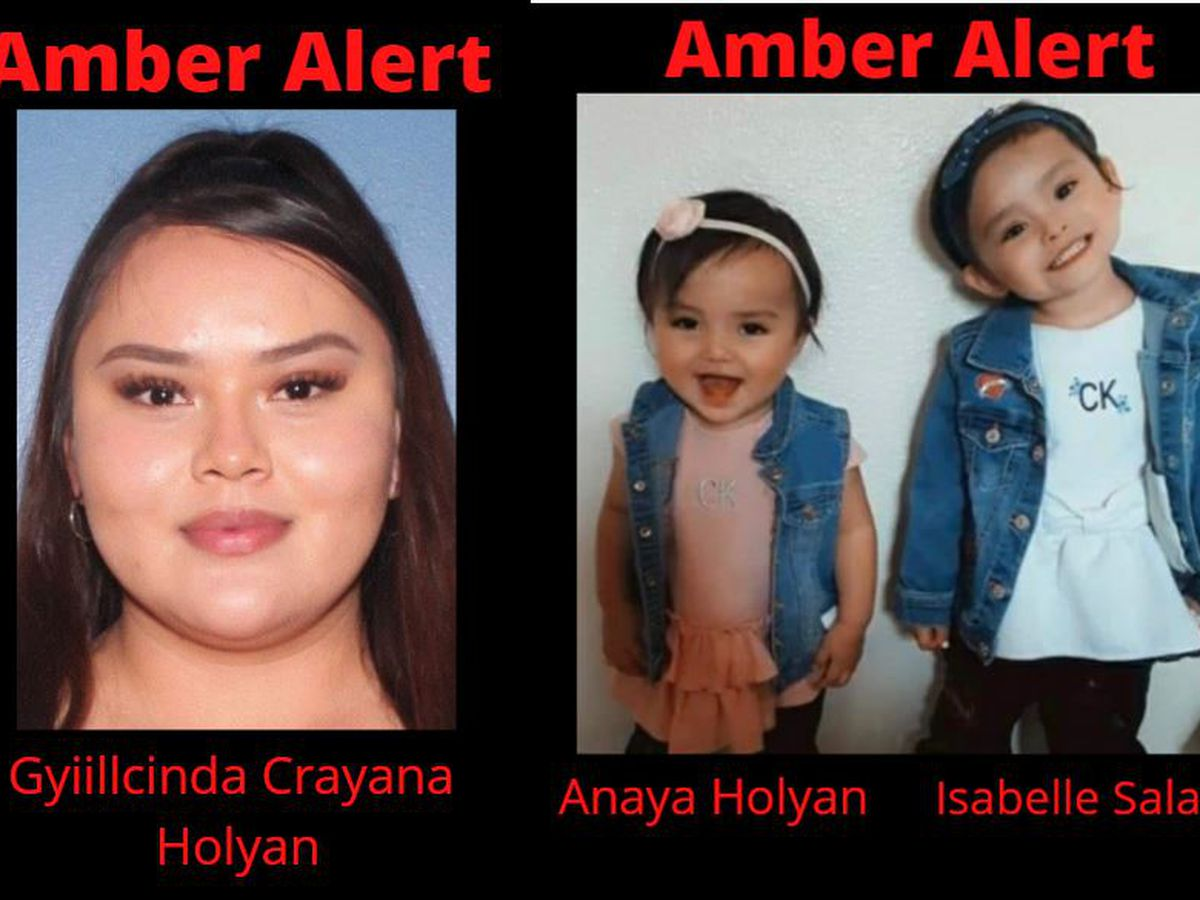 Amber Alert issued for 2 toddlers, mother in Carlsbad, NM