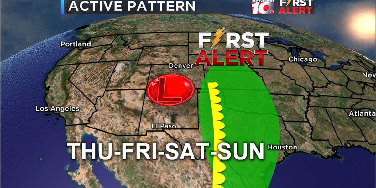 FIRST ALERT: Strong thunderstorms and severe weather conditions return later this week