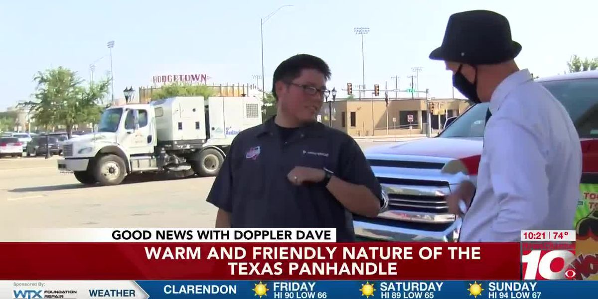 GOOD NEWS: Friendly people in the Tx Panhandle